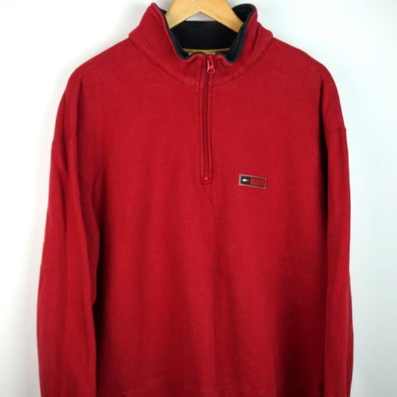 581f7c8e Tommy Hilfiger Shirts   Vtg 90s Athletics 14 Sweatshirt Xl   Poshmark